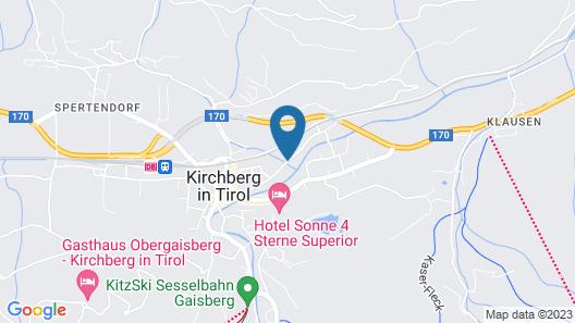 Parkhotel Kirchberg Map