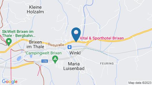 Vital & Sporthotel Brixen Map