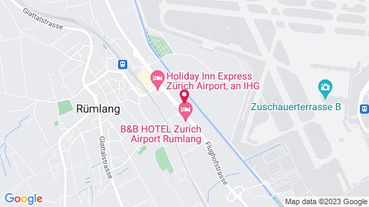 Radisson Hotel Zurich Airport Map