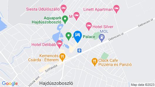 Hotel Aurum Family Map