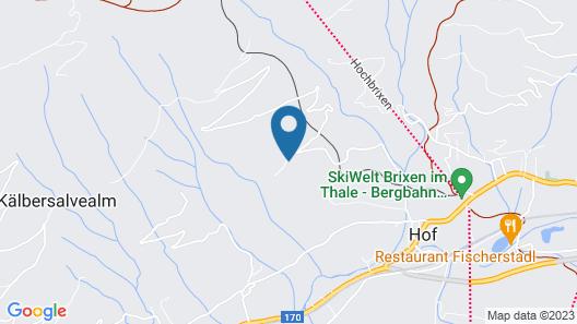 Inviting Apartment in Brixen im Thale With Sauna, Ski Storage Map
