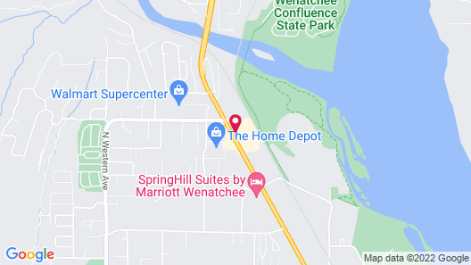 Holiday Inn Express Wenatchee, an IHG Hotel Map