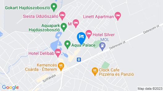 Hunguest Hotel Beke Map