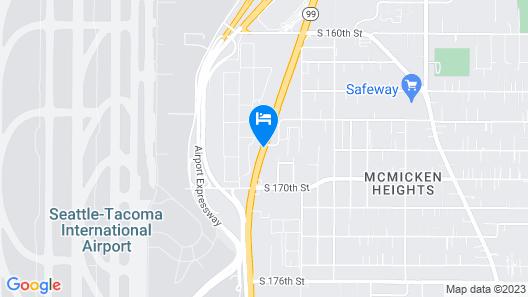 Ramada by Wyndham SeaTac Airport Map