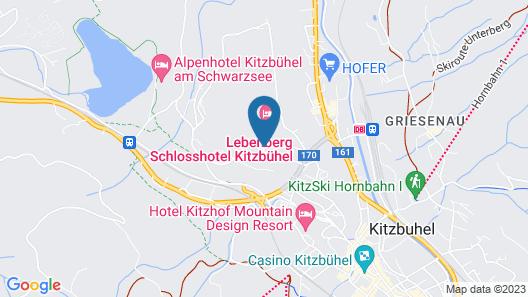 Lebenberg Schlosshotel-Kitzbühel Map