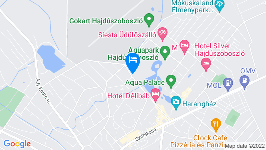Hungarospa Thermal Hotel Map