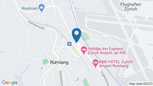 JET HOTEL Map