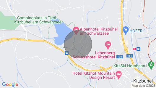 Apartment Seidlalm, Kitzbühel Map
