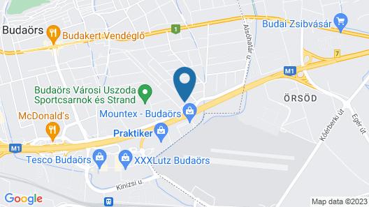 Peregrino Panzió Map