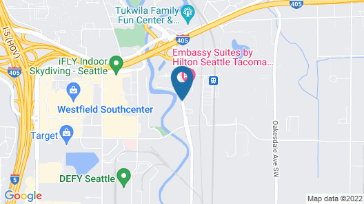 Embassy Suites by Hilton Seattle Tacoma International Airport Map