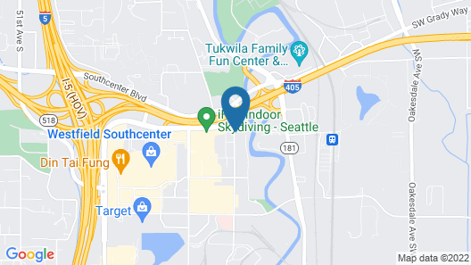 Holiday Inn Express & Suites Seattle South - Tukwila, an IHG Hotel Map