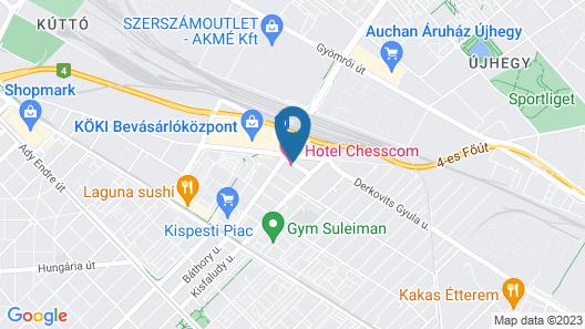 Hotel Chesscom Map