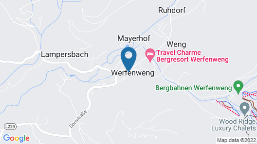 Gut Wenghof - Family Resort Werfenweng - All Inclusive Map