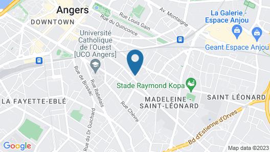 Le Petit Quernon Map