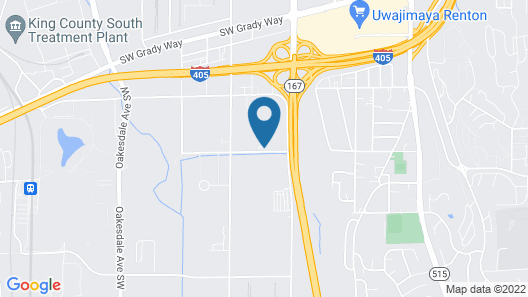 Sonesta Select Seattle Renton Suites Map