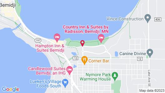 Country Inn & Suites by Radisson, Bemidji, MN Map