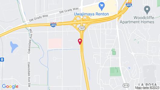 Hilton Garden Inn Seattle/Renton Map