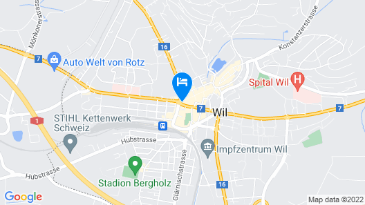 Hotel Schwanen Map