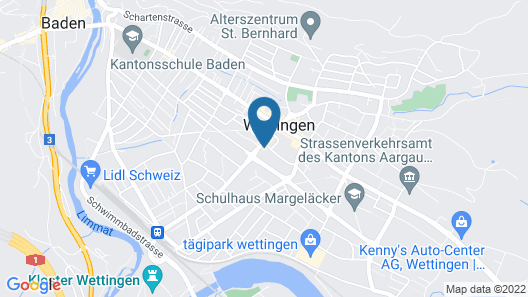 Zys Hotel Map