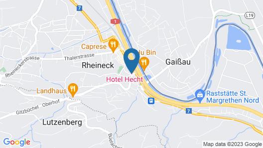 Hotel Hecht Map