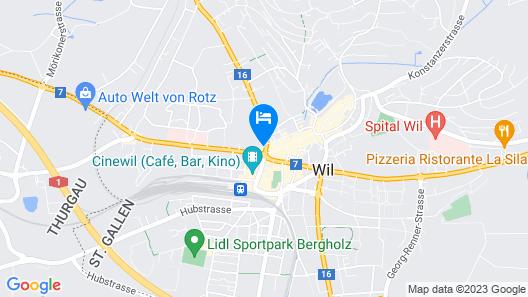 Hotel Freihof Map