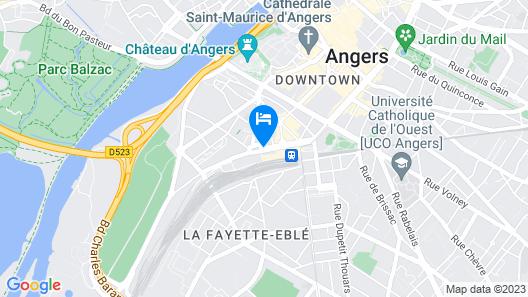 Hotel De Champagne Map