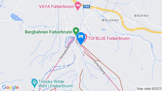 TUI BLUE Fieberbrunn Map