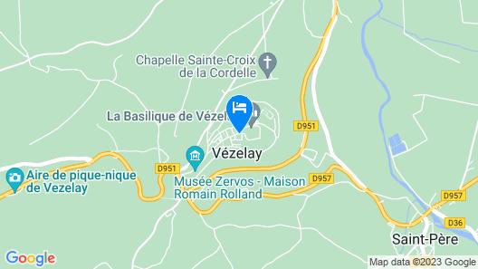 Hôtel-Restaurant SY La Terrasse Map