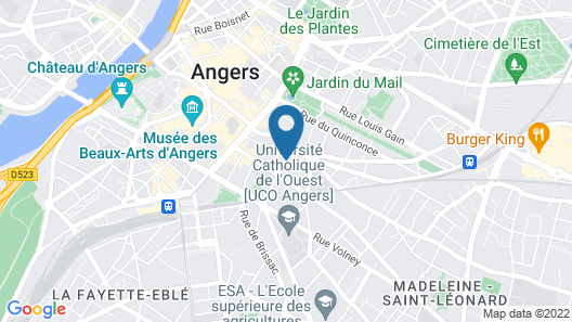 Logis St Joseph Map