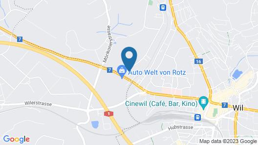 Hotel von Rotz Map