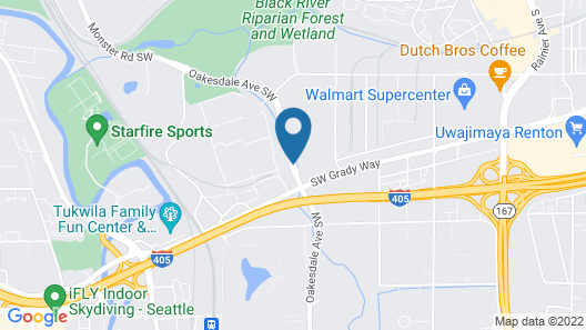 Extended Stay America - Seattle - Renton Map