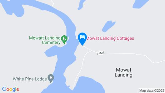 Mowat Landing Cottages Map