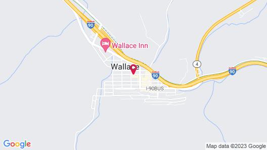 Stardust Motel Wallace Map