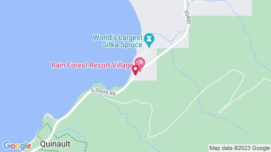 Rain Forest Resort Village Map