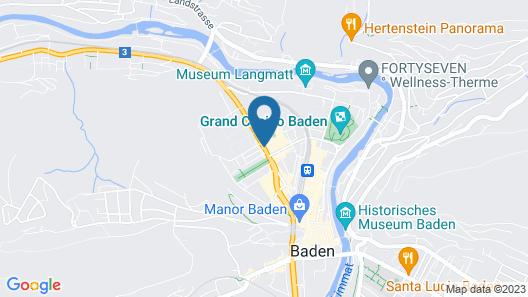 Trafo Hotel Map