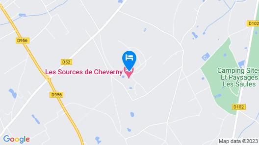 Les Sources de Cheverny Map