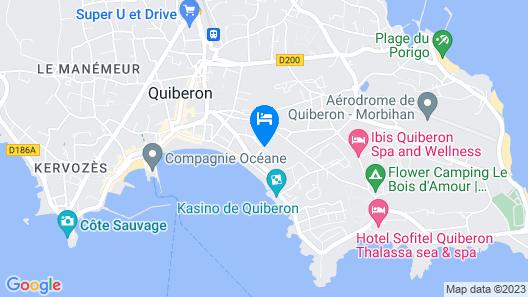Sofitel Quiberon Thalassa Sea & Spa Map