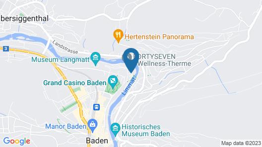 Atrium Hotel Blume Map