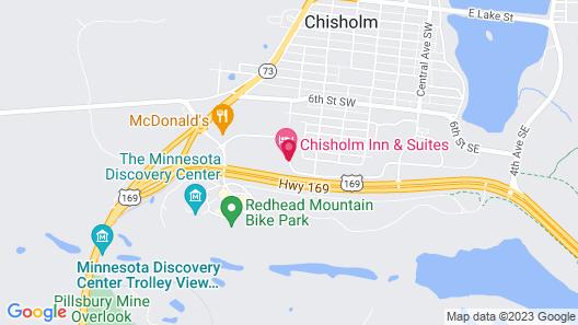 Chisholm Inn & Suites Map