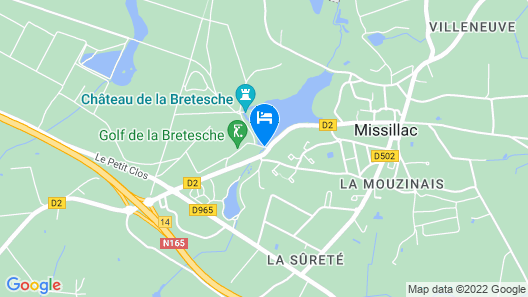 Hotel, Golf & Spa de la Bretesche Map