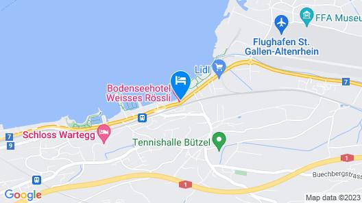 Bodenseehotel Weisses Rössli Map