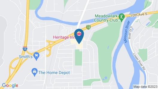 Heritage Inn Map