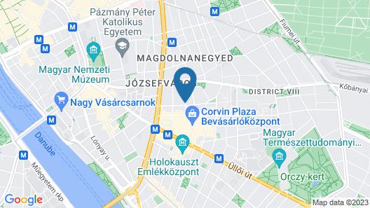 Bo18 Hotel Superior Map