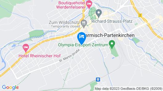 Hyperion Hotel Garmisch – Partenkirchen Map