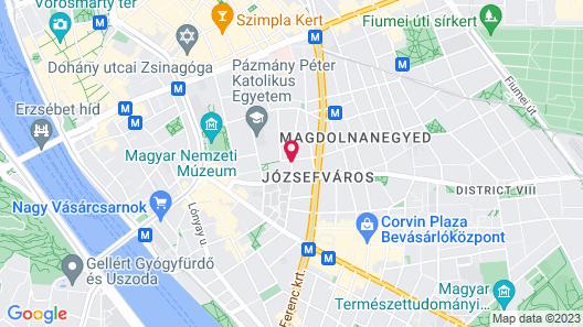 Hotel Palazzo Zichy Map
