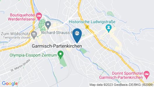 Reindl's Partenkirchner Hof Map