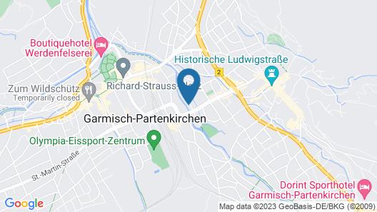 Gästehaus Alpenkranz Map