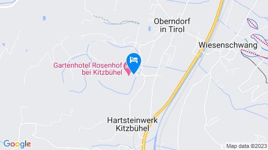 Gartenhotel Rosenhof Kitzbuehel Map