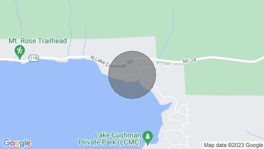 Camp Wolf At Lake Cushman Map