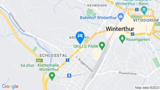 ibis Winterthur City Map